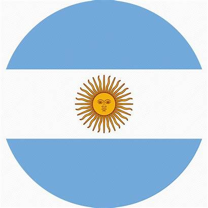 Flag Ar Argentina Icon Icons Flat Country