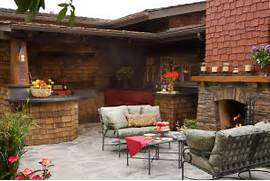 Outdoor Kitchens And Fireplaces by Craftsman Outdoor Kitchen And Fireplace Traditional Patio San Diego B