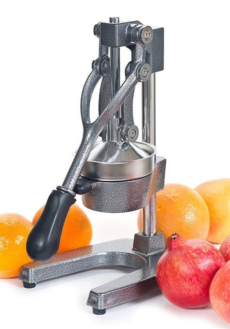 juicer juice manual press citrus commercial pomegranate juices juicers hand grapefruit orange iron cast kitchen lemons easy oranges ten kraft