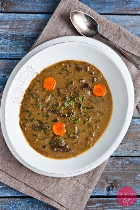 Zupa grzybowa przepis | Dorota Kamińska