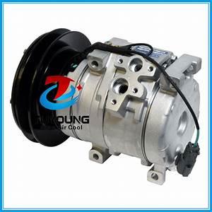 Co 11301c Auto Ac Compressor For John Deere Komatsu Kobelco Hitachi 24 Volt Agriculture 10s15c