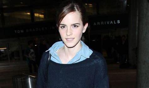 Harry Potter Star Emma Watson Dresses Down Skinny Jeans