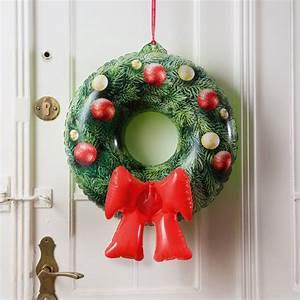 Weihnachtskranz Für Tür : aufblasbarer weihnachtskranz f r die t r online kaufen online shop ~ Sanjose-hotels-ca.com Haus und Dekorationen