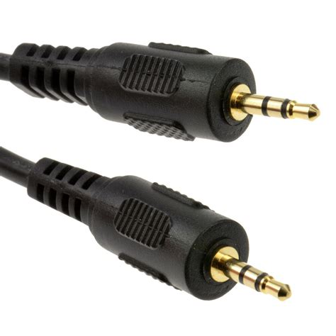 Kunci L 1 5 Mm 2 5 mm 2 5mm gold stereo to cable lead ebay