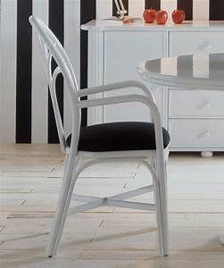 Chaise Fauteuil Avec Accoudoir : chaise avec accoudoirs en rotin brin d 39 ouest ~ Teatrodelosmanantiales.com Idées de Décoration