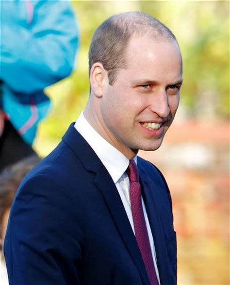 Prince William's hair gets clipped short, attracting lots