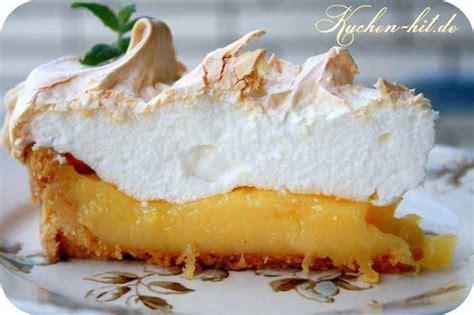 lemon meringue pie rezept kuchen hitde