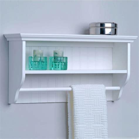 bathroom shelf with towel bar 47 best bathroom wall storage cabinets designs ideas