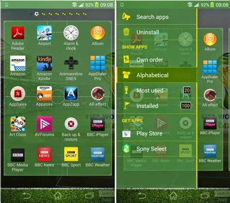 official world cup  theme sony xperia informasi terbaru