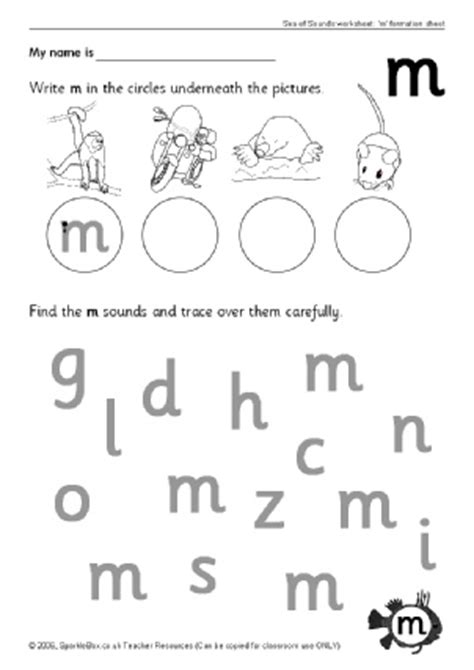 letter m phonics activities and printable teaching