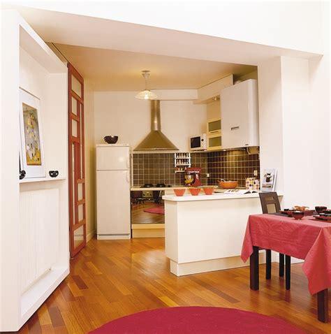 cuisine en longueur ouverte cuisine en longueur ouverte 6 cuisine ouverte avec bar kirafes