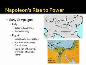 PPT - The Rise and Fall of Napoleon Bonaparte PowerPoint ...