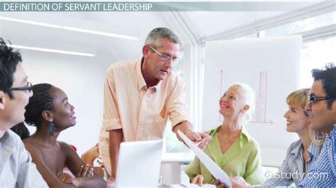 servant leadership definition characteristics