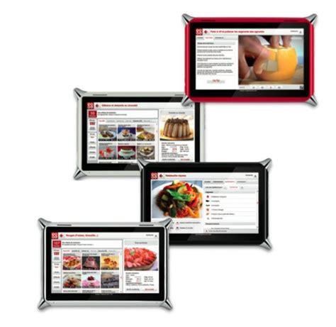 tablette cuisine qooq idée cadeaux la tablette tactile qooq au service de