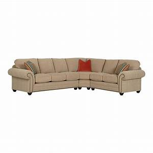 large custom sectional by bassett furniture bassett With sectional sofas by bassett