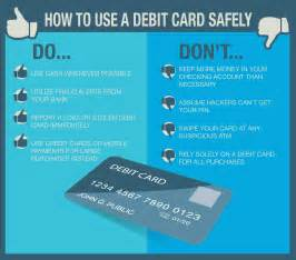 practice safe spending how to use your debit card safely