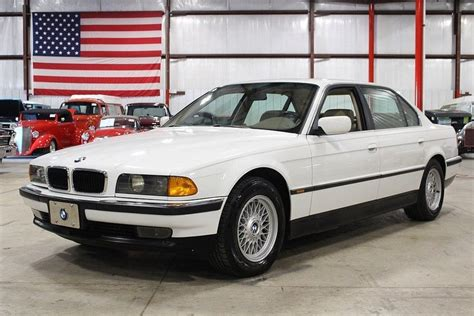 1998 Bmw 740il alpine white 1998 bmw 740il for sale mcg marketplace