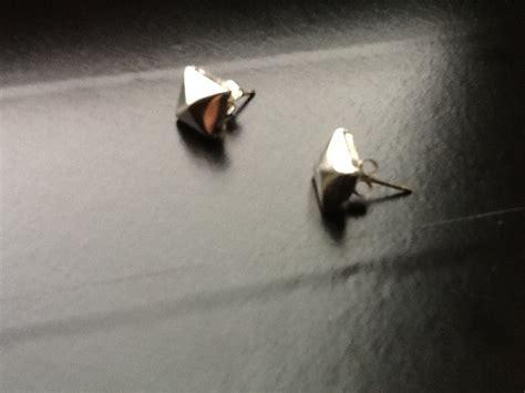 diy stud earrings     set  paper earrings