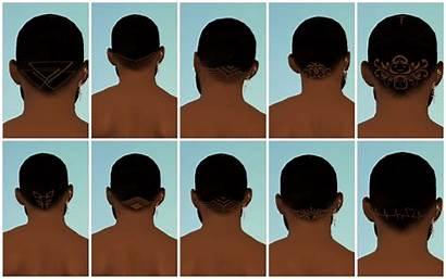 Sims Hair Cc Hairline Undercuts Swatch Undercut