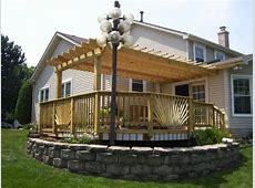 Multi level deck with pergola Deck design and Ideas