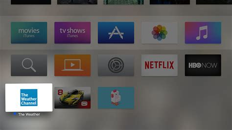 how to move or delete apps on the new apple tv