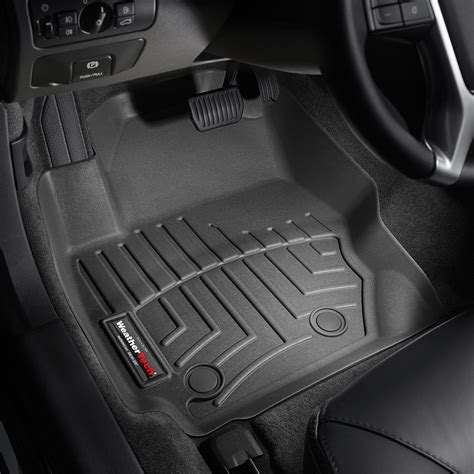weathertech floor mats weathertech 174 442321 digitalfit 1st row black molded