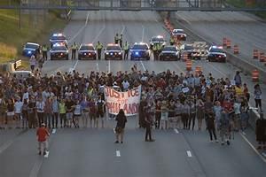 protesters shut i 94 in st paul activist deray