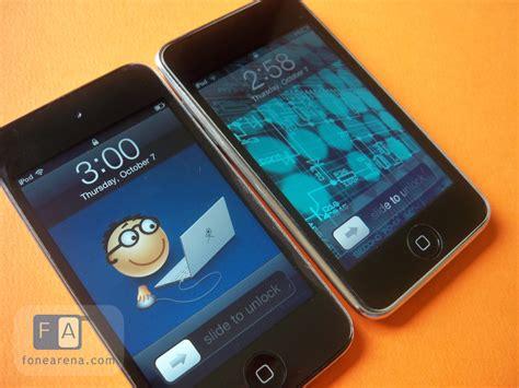 ipod touch    hardware  size  retina