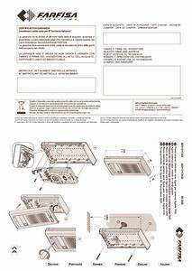Farfisa Installation Instructions