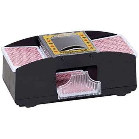 Another thing to watch for is when a card gets stuck in the automatic shuffler. Top 10 Best Automatic Card Shufflers in 2020 Reviews