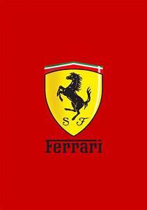Ferrari Logo Wallpaper | Ferrari logo, Logo wallpaper hd