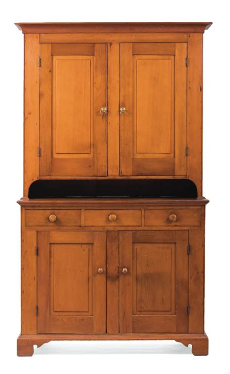 New Cupboards by One Diminutive 19th C American Cherry New