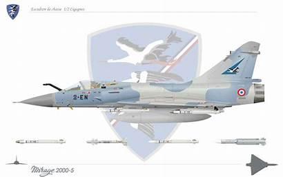 Mirage 2000 Mirage2000 Cigognes Dassault Escadron Avion