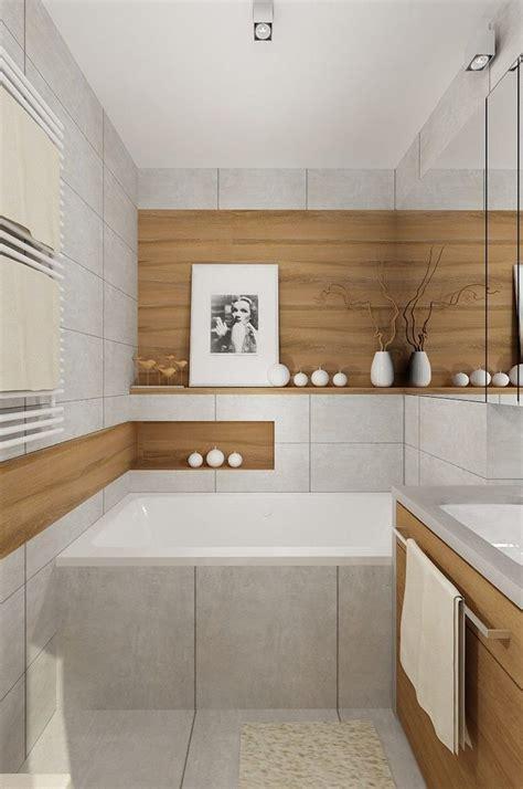 Kleine Badezimmer Fliesen Bilder by Hellgraue Feinsteinzeug Fliesen Und Design In Holzoptik Haus