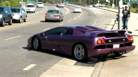 Lamborghini Diablo SE30 Jota at Supercar Sunday - YouTube