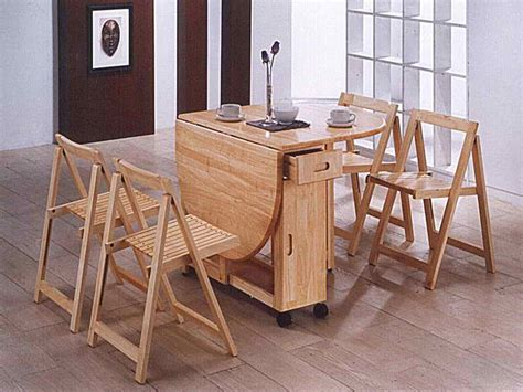 dining room drop folding dining table and chairs folding