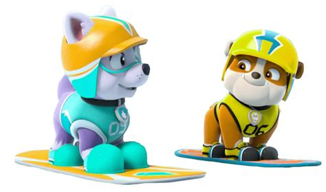 everest jumping paw patrol clipart png everest and rubble paw patrol clipart png Unique
