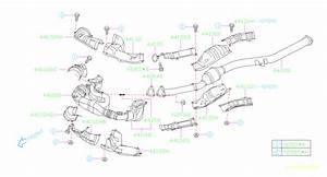2011 Subaru Impreza Catalytic Converter Gasket  Exhaust