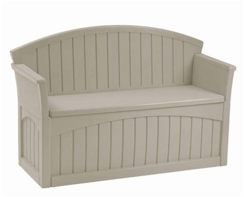 Plastic Outdoor Storage Bench  Outdoor Patio Storage Bench