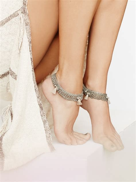 Anklets & Ankle Bracelets  Free People. Sagittarius Pendant. Eternity Band. Gold Ankle. 92 Carat Diamond. Memorial Pendant. Bangle With Ring. Functional Wedding Rings. Birth Stone Bracelet