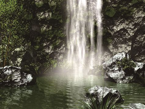 Free Waterfall Backgrounds by Waterfall Background Waterfall River Pond Background