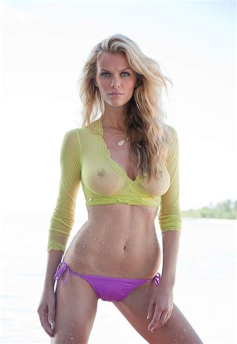 Brooklyn Decker Wet Shirt Photos Reveal Sports Illustrated