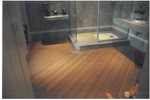 plancher teck salle de bain 1 indogate salle de bain With salle de bain parquet pont de bateau