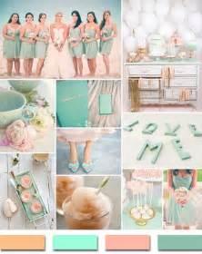 wedding color palette popular summer wedding color palettes 2014 trends