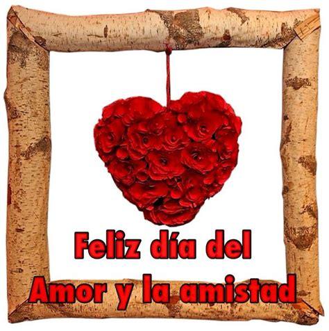 Feliz Día del Amor y la Amistad Home decor Frame