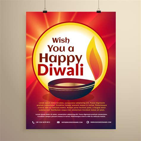 diwali celebration flyer template   festival diwali