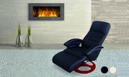 si鑒e chauffant massant fauteuil massant et chauffant groupon shopping