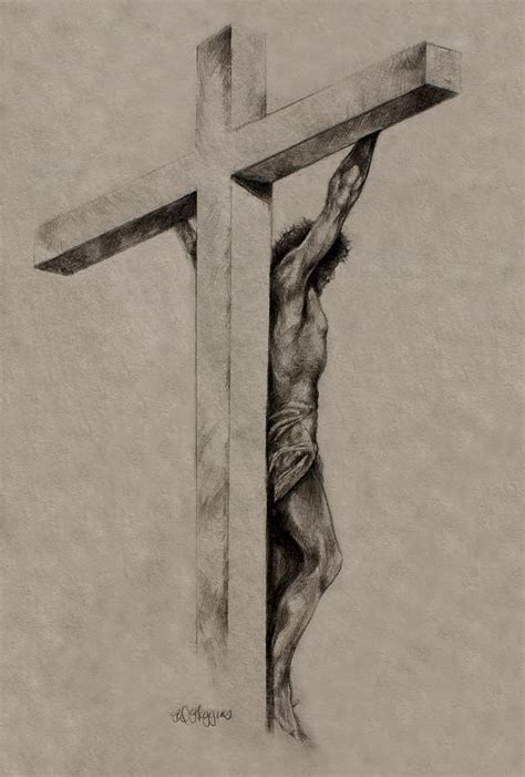 the cross drawing by derrick higgins