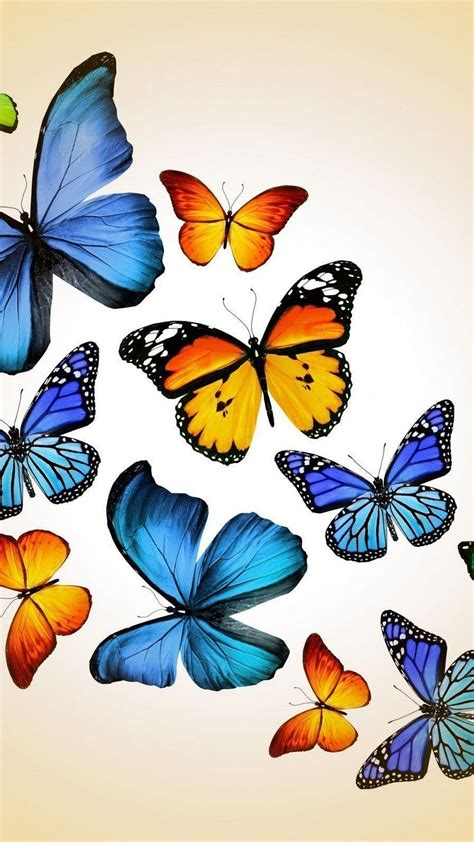 Feel free to send us your own wallpaper wallpapers can typically be downloaded at no cost from various websites for modern phones (such as those running android, ios, or windows phone. Blue Butterfly Cellphone Wallpaper | 2020 Cute Wallpapers