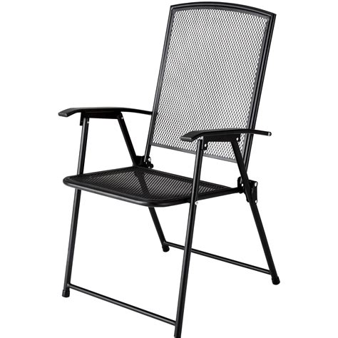 folding patio chairs black wrought iron patio furniture sears